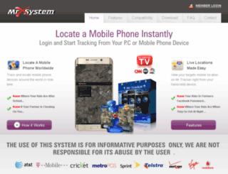 mrxsystem.com screenshot