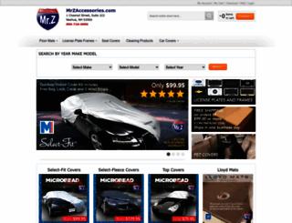 mrzaccessories.com screenshot