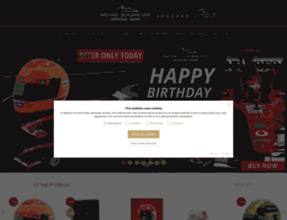 ms-paddock-shop.de screenshot
