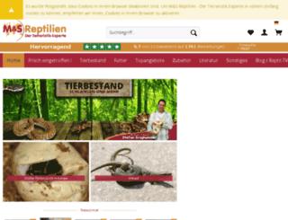 ms-reptilien.com screenshot