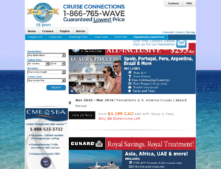 ms.cruise-connections.com screenshot
