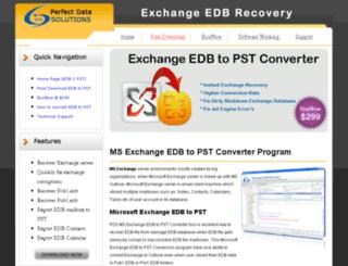 ms.exchangeedbtopstconverter.com screenshot
