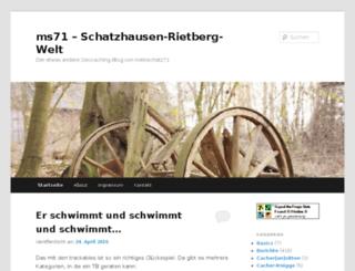 ms71.wordpress.com screenshot