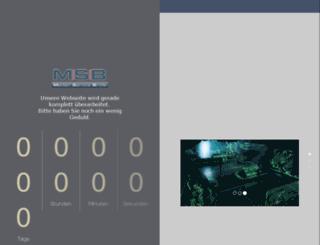 msb-live.de screenshot