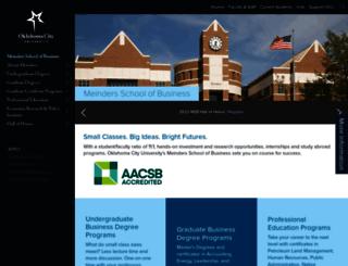 msb.okcu.edu screenshot