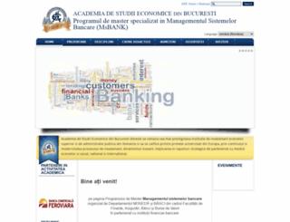 msbank.ase.ro screenshot
