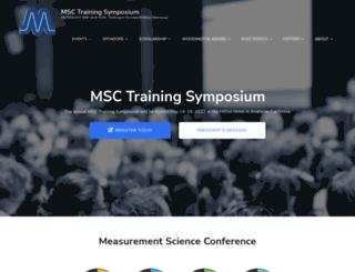 msc-conf.com screenshot