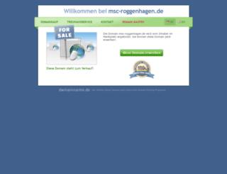 msc-roggenhagen.de screenshot
