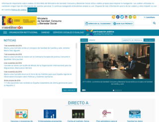 msc.es screenshot