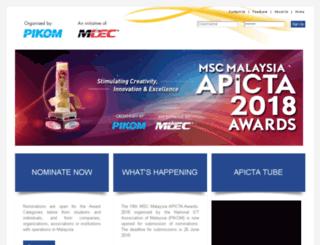 mscapicta.com.my screenshot