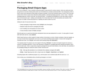 mschaef.com screenshot