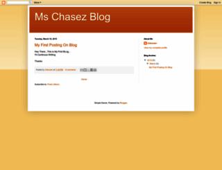 mschasez.blogspot.com screenshot