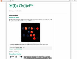 mschefkitchen.blogspot.com screenshot