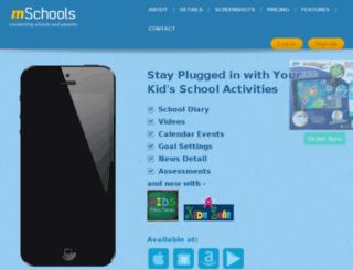 mschools.co.in screenshot