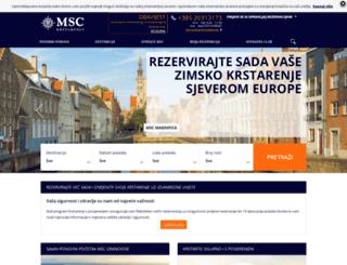 msckrstarenja.com screenshot