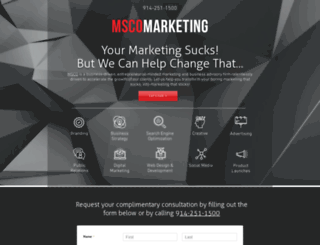 msco.com screenshot
