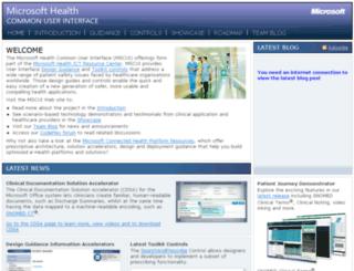 mscui.net screenshot