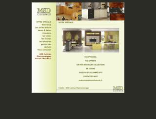 msd-cuisines.com screenshot