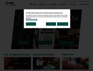 msd-tiergesundheit.de screenshot