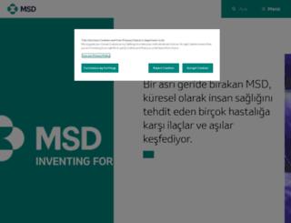 msd.com.tr screenshot