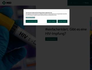 msd.de screenshot