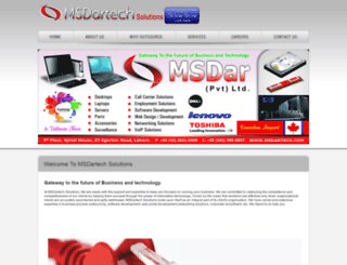 msdartech.com screenshot