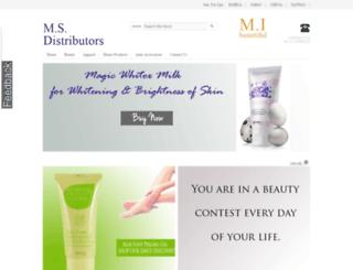 msdistributors.in screenshot