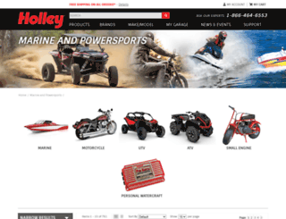msdpowersports.com screenshot