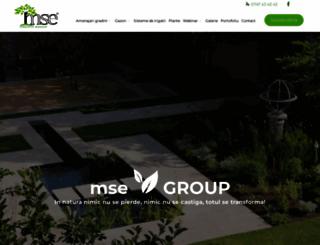 mse-group.ro screenshot