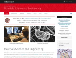 mse.rpi.edu screenshot