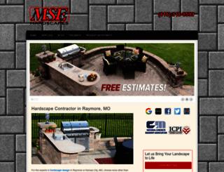 msehardscapes.com screenshot