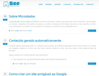 mseo.com.br screenshot
