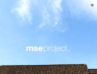mseproject.es screenshot