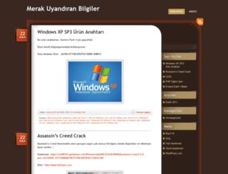 mserkan.wordpress.com screenshot