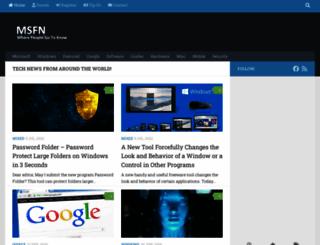 msfn.org screenshot