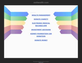 msfwealth.com screenshot