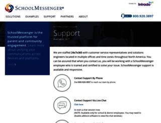 msg.schoolmessenger.com screenshot