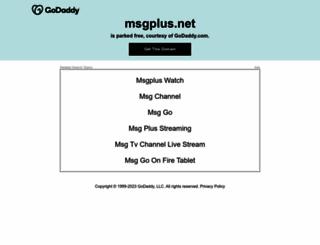 msgplus.net screenshot