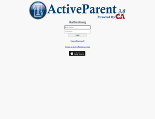 mshattiesburg.activeparent.net screenshot