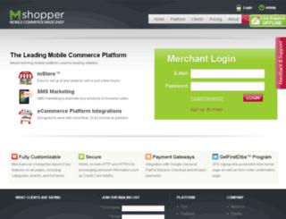mshopper.net screenshot