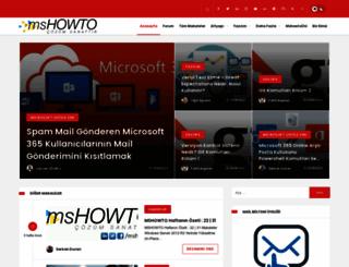 mshowto.org screenshot