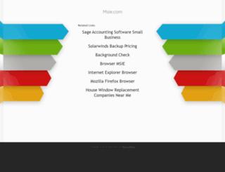msie.com screenshot