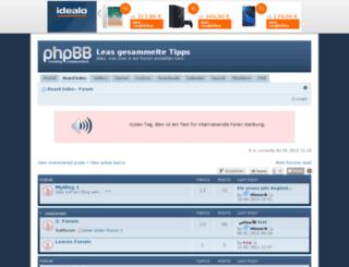 mslea.de screenshot