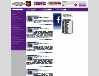 msliga.info screenshot