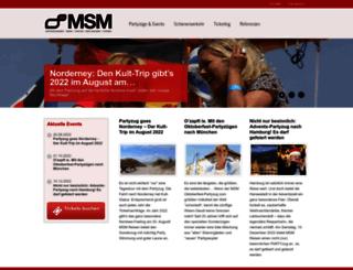 msm-gruppe.de screenshot