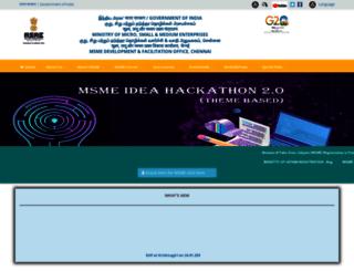 msmedi-chennai.gov.in screenshot