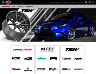 msmotorsports.mx screenshot