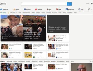msn.com.au screenshot