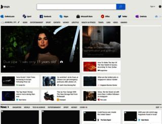 msn.com.sg screenshot