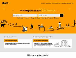 msn.pagesjaunes.ca screenshot
